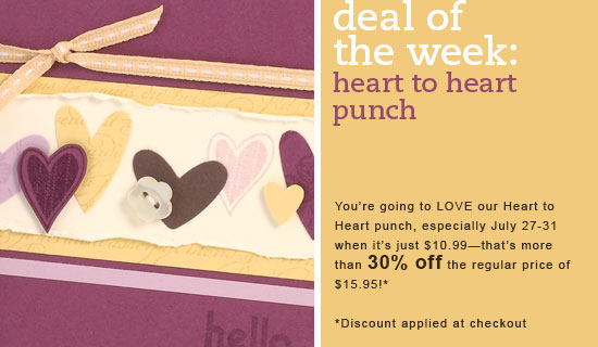 Deal of week punch
