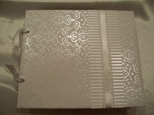 wedding/anniversary guest book idea