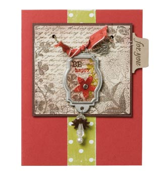 Necklace card front
