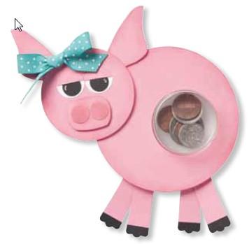 piggy bank sweet treat cups
