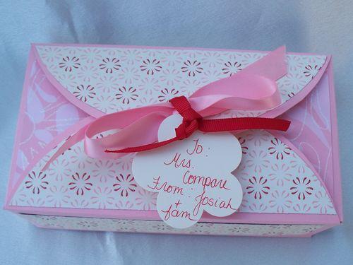 Teacher Gift Box top