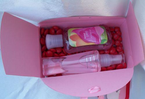 Teacher Gift Box inside