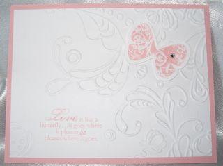 Elegant lines embossing folder