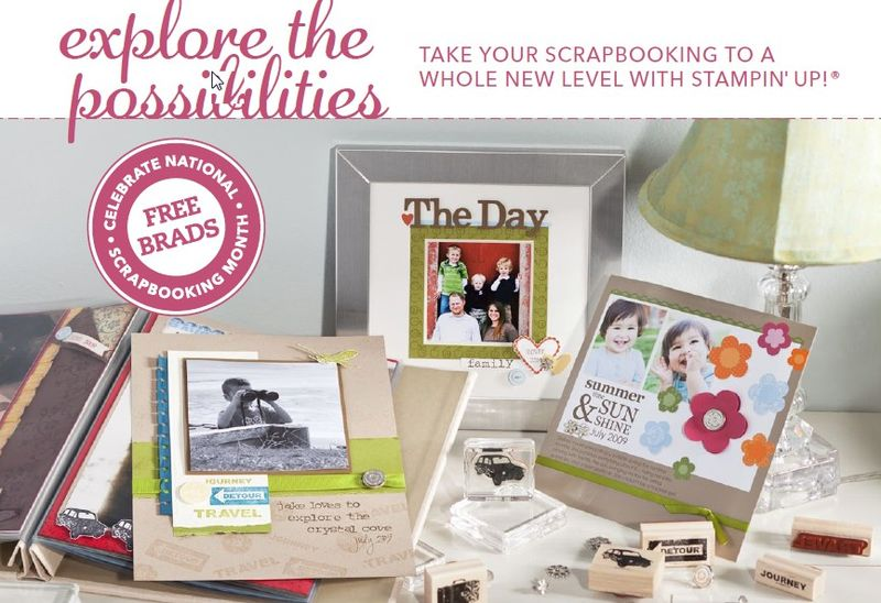 National Scrapbooking Month Promo 1