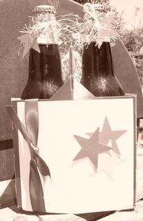 Patriotic root beer sepia