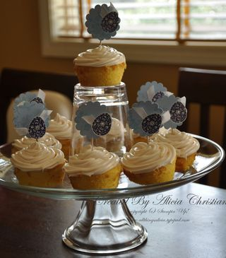 Easter cupcake tower b