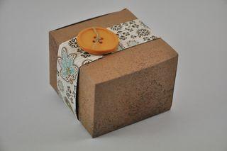 fall leaf gift box