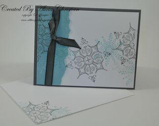 Snowflake card b