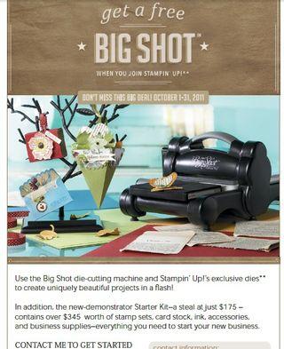 Big Shot promo