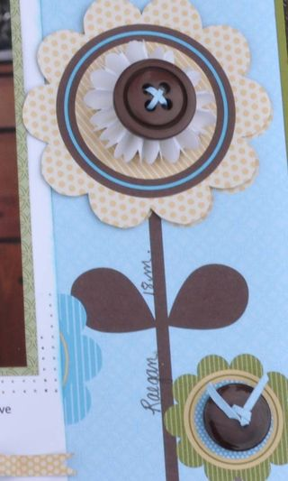 Playdate page flower closeup