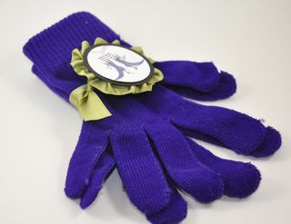 dressed up halloween gloves