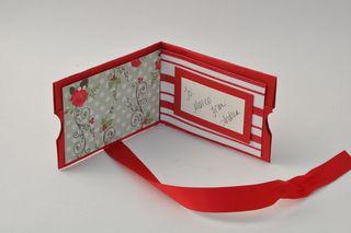 Noel gift card inside