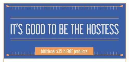 Its good to be hostess banner