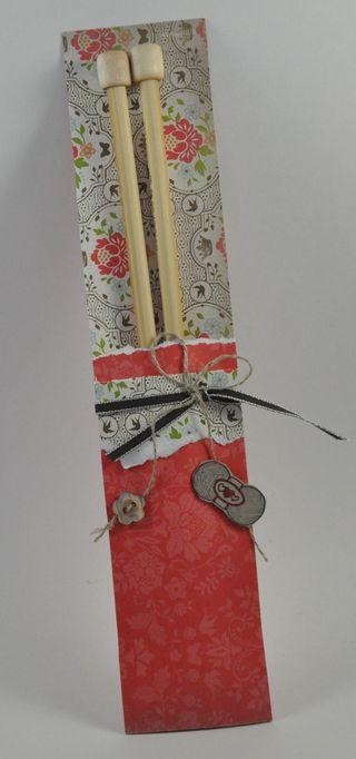knitting needles gift