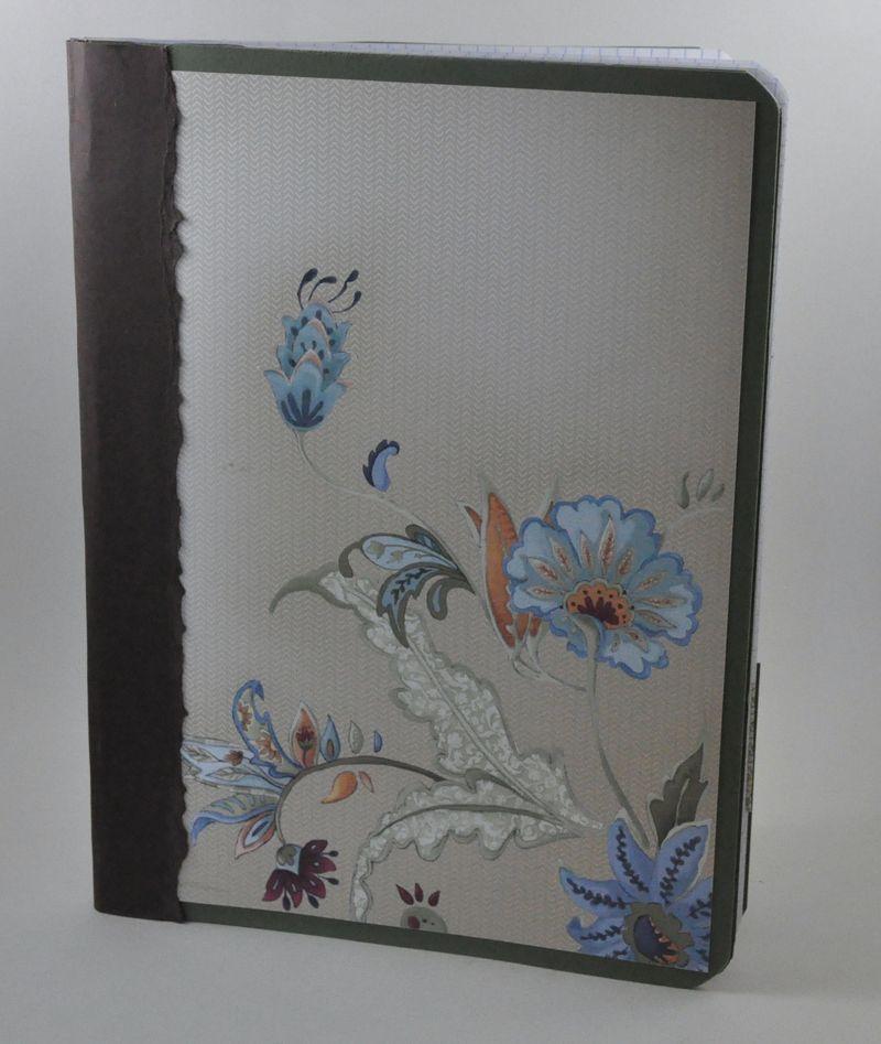 My garden journal front