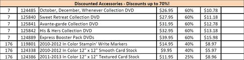 Discount accessories 1