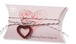 Pillow box valentine treat