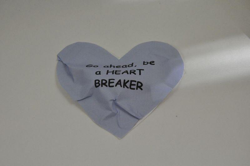 Heart breaker valeninte