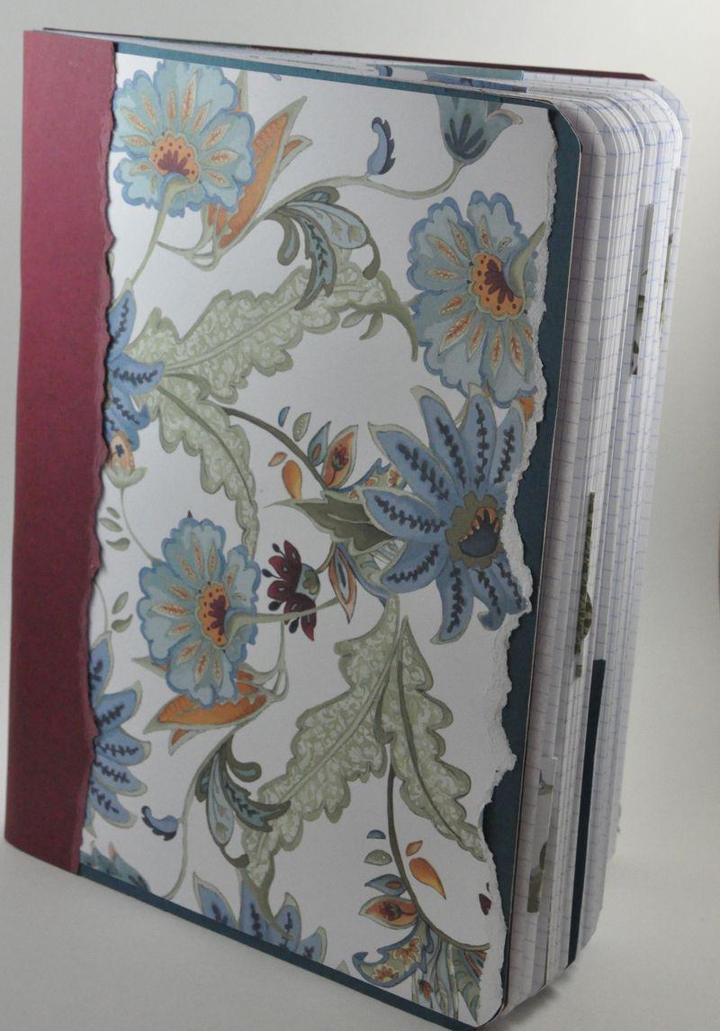 Etsy garden journal front