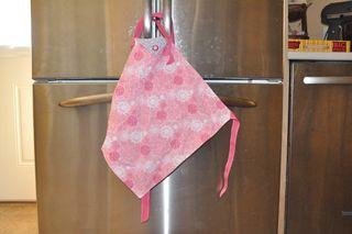 front of flirtacious apron