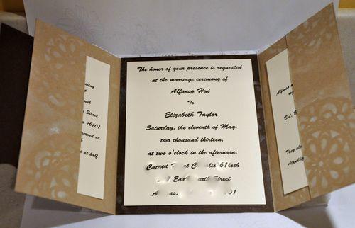 wedding inside