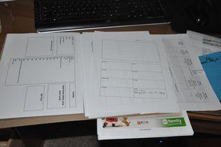 Weekly folder inside