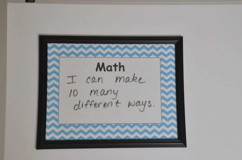 Frame whiteboard