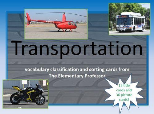 Transportation cover