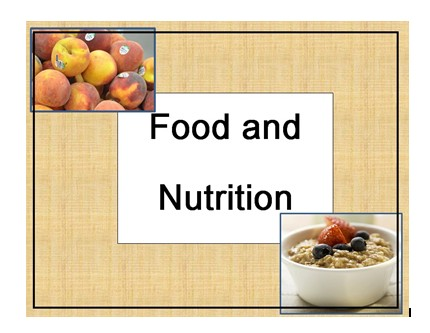 Nutrition cards cover