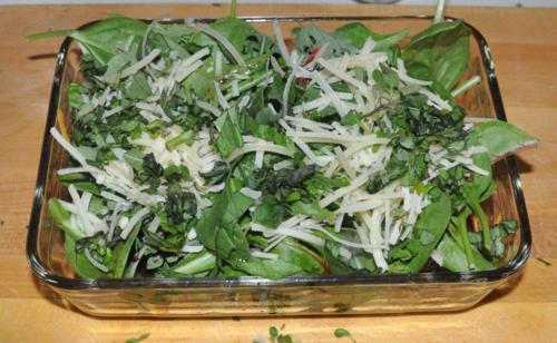 Twice roasted salad 8
