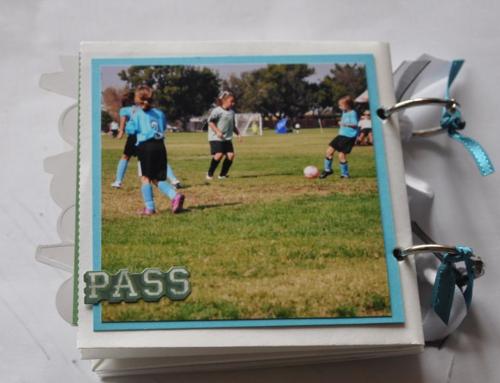 back of soccer albu