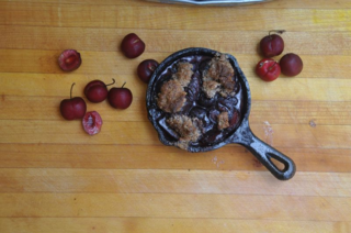Paleo cherry crisp final 1